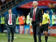 Vladimir Petkovic musste gegen Costa Rica verbal oft eingreifen (Bild: KEYSTONE/EPA/FRANCK ROBICHON)