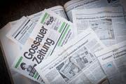 Die «Gossauer Wochenzeitung» (GoZ) ging aus der «Gossauer Zeitung» hervor – einer von drei Tageszeitungen, die Mitte der 1980er-Jahre auf dem Platz Gossau um Leser buhlten. 1991 wurde die GoZ zum amtlichen Publikationsorgan der Stadt Gossau. (Bild: Ralph Ribi)