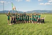 Die Turner aus Weite freuen sich zurecht über den Sieg am Schwyzer Kantonalturnfest. (Bild: PD)