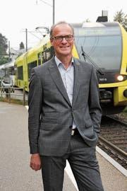 Felix Gemperle spricht sich für eine Variante ohne neuen Autobahnanschluss aus. (Bild: Ruedi Hirtl)