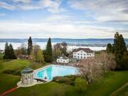 Das Schloss Eugensberg wird verkauft. Der Mindestpreis für das gesamte Anwesen beträgt 35 Mio. Franken. (Bild: Keystone-SDA/Gian Ehrenzeller)