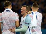 Wayne Rooney zeiht es von England in die USA (Archivaufnahme) (Bild: KEYSTONE/EPA/OLIVER WEIKEN)