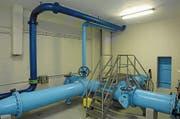 Der Rohrkeller im Wasserreservoir Untere Klostermatt in Stans. (Bild: PD)