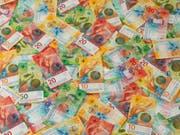 Der Bundesrat erwartet im kommenden Jahr einen Überschuss von 1,3 Milliarden Franken in der Bundeskasse. (Bild: KEYSTONE/SCHWEIZERISCHE NATIONALBANK/STR)