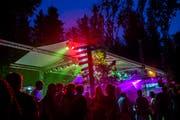 Die Siebenschläfer Party in der Bilchen Amriswil zieht Tausende von Fans an. (Bild: Thi My Lien Nguyen/21.07.2017)