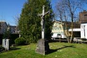 Das Friedhofskreuz gehört jetzt zu den schützenswerten Denkmälern. (Bild: PD)