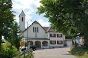Der bekannte Wallfahrtsort St.Iddaburg liegt oberhalb von Gähwil und ist der höchste Punkt in der Gemeinde Kirchberg. (Bild: Beat Lanzendorfer)