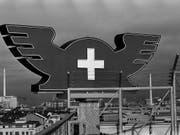 Der Merkurhut war lange Zeit Emblem der Schweizer Mustermesse. 2019 findet die Muba zum letzten Mal statt. Archivbild: KEYSTONE/Michael Kupferschmidt (Bild: KEYSTONE/MICHAEL KUPFERSCHMIDT)