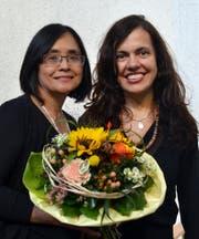 Teresa Kressig-Chen (links) und Yara Borges. (Bild: Peter Jenni)