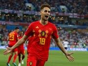 Adnan Januzaj schoss Belgien in der 51. Minute auf die Siegesstrasse (Bild: KEYSTONE/AP/ALASTAIR GRANT)