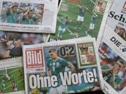 Die deutschen Zeitungen sparen nicht mit Kritik an der DFB-Elf (Bild: KEYSTONE/AP/MIRIAM KAROUT)
