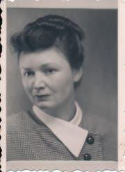 Federica de Cescos Tante in jungen Jahren. Anna ist ihr Name im Roman, er wurde aus Rücksicht auf die Familie geändert.