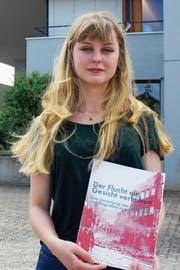 Anaïs Treadwell, Gewinnerin des Luzerner Religionspreises 2018. (Bild: Lale Andreani)