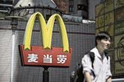 Für zahlreiche US-Unternehmen, darunter auch den Fast-Food-Riesen McDonald's, ist China längst der wichtigste Markt. (Qilai Shen/Bloomberg, Schanghai, 7. August 2016)