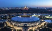 Das Final findet im Luschniki Stadion in Moskau statt. (Bild: AP)