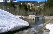 Geschiebesammler beim Erlenbach im Alpthal. (Bild: PD/WSL)