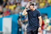 «Ich muss mich natürlich als Trainer hinterfragen»: Joachim Löw nach dem WM-Aus der deutschen Mannschaft. (Bild: Frank Augstein/AP (Sotschi, 23. Juni 2018))