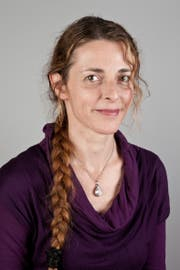 Die Lyrikerin Andrea Maria Keller.