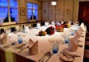Die «Jakobsstube» im Restaurant Engel. (Bild: PD)