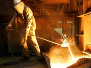 Durch das Bündnis von Thyssenkrupp mit dem Konkurrenten Tata entsteht der zweitgrösste Stahlkonzern Europas. (Bild: KEYSTONE/AP/FRANK AUGSTEIN)