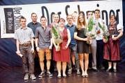 Die Absolventinnen und Absolventen aus dem Werdenberg und dem Obertoggenburg. (Bild: Heidy Beyeler)