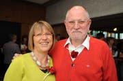 Im Jahr 2010 am gemeinsamen Gottesdienst für Paare der reformierten Kirche Bichelsee: Pfarrer Walter Oberkircher mit seiner Frau Brigitte. (Archivbild: Nana do Carmo)