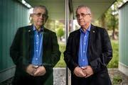 «Ich verstehe die Haltung der Europäer gegenüber dem Iran nicht», sagt der israelische Politikwissenschaftler Mordechai Kedar. Bild: Philipp Schmidli (Luzern, 3. Juni 2018)