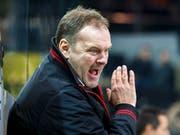Tigers-Headcoach Heinz Ehlers kümmert sich in der kommenden Saison auch um die dänische Nationalmannschaft (Bild: KEYSTONE/SALVATORE DI NOLFI)