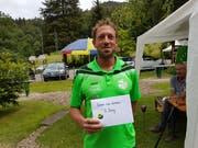 Der Buchser Pit-Pat Spieler Pascal Mocaer erkämpfte sich am Schützen-Cup in Schliern-Köniz den dritten Rang. (Bild: PD)