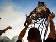 Der Kampf um die Cup-Trophäe beginnt von Neuem (Bild: KEYSTONE/MELANIE DUCHENE)