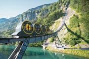 Günstigere Tickets für Bergbahnen – im Bild die neue Stoosbahn – sind ebenfalls vorgesehen. (Bild: Urs Flüeler/Keystone (Stoos, 20. Juni 2018))