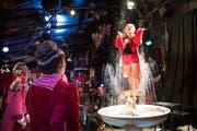 Das Broadway Variété mit dem Programm «Le Resort – Ferien» bis zum Abwinken. (Bild: Eveline Beerkircher (Kriens, 28. Juni 2018))