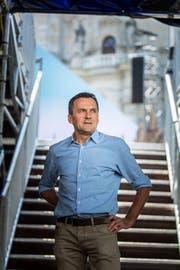 Georges Hanimann Technischer Leiter Theater und Festspiele.