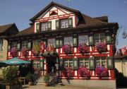 Das Gasthaus Engel: Das Gebäude steht unter Denkmalschutz. (Bild: PD)