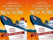 Die Thunerseespiele bringen nächstes Jahr das Udo-Jürgens-Musical «Ich war noch niemals in New York». Es ist die erste Openair-Aufführung des erfolgreichen Stücks. (Bild: Pressebild)