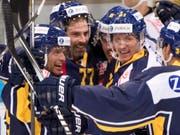 Jeff Campbell (links) will ins Team zurückkehren (Bild: KEYSTONE/MARCEL BIERI)