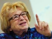 Die bekannte Sexualtherapeutin Ruth Westheimer wird am kommenden Montag 90 Jahre alt und gibt ihr Geheimnis für ein langes Leben preis. (Bild: KEYSTONE/STEFFEN SCHMIDT)