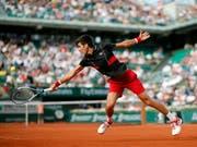Novak Djokovic steht erneut im Viertelfinal (Bild: KEYSTONE/AP/CHRISTOPHE ENA)