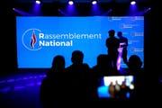 Aus Front mach Rasseblement: Frankreichs Rechte hat einen neuen Namen. (Laurent Cipriani/AP)
