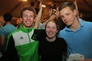 Beat Brändli, Melanie Scheidegger und Nikolas Buser vom TV Ziefen aus dem Kanton Baselland. (Bild: Chris Marty / tgplus.ch)