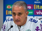 Brasiliens Nationaltrainer Tite nimmt kein Blatt vor den Mund (Bild: KEYSTONE/EPA/PETER POWELL)