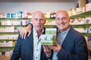 Einst vertrieb das Familienunternehmen Läkerol in der Schweiz, jetzt setzen die Roelli-Brüder auf CBD-Kaugummis. (Bild: Hanspeter Schiess)