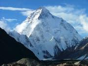 Paradies für Bergsteiger: In Pakistan stehen einige der höchsten Berger der Welt, darunter der berühmte über 8600 Meter hohe K2. (Bild: KEYSTONE/EPA/HO)
