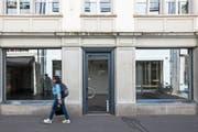 Keine Seltenheit: ein leer stehendes Geschäft in der Luzerner Altstadt. (Bild: Alexandra Wey/Keystone (26. Juni 2018))