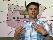 Raumplaner dipl. Ing. FH SIA Armin Meier von Strittmatter Partner AG, St.Gallen, erläuterte die neuen Grundlagen der Raumplanung. (Bild: Max Pflüger)