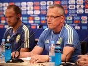 Hat mit Schweden die Erwartungen bereits übertroffen: Nationaltrainer Janne Andersson (Bild: KEYSTONE/EPA YNA/YONHAP)