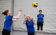 Netzball: Fast wie Volleyball. (Bild: Stefan Kaiser, (Hünenberg, 15.Mai 2018))