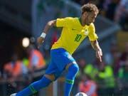 Neymar zeigte bei seinem Comeback eine starke Vorstellung (Bild: KEYSTONE/EPA/PETER POWELL)
