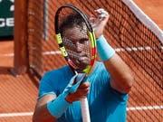 Auf Kurs zum 11. Titel: Rafael Nadal (Bild: KEYSTONE/EPA/GUILLAUME HORCAJUELO)