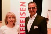 Verwaltungsratspräsidentin Suzanne Thür und der zukünftige Vorsitzende der Bankleitung, Urs Röthlisberger. (Bild: Werner Lenzin)